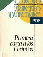Primera Carta a Los Corintios-WalterEugen