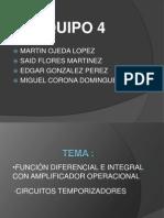 Equipo 4 Amplificadores Operacionales Con Funcion Diferencial e Integral
