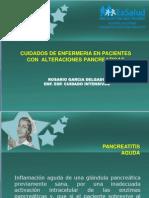 En Pacientes Con Alteraciones Pancreaticas