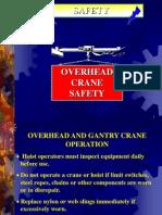 Overhead Crane Safety Ppt.