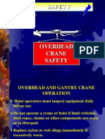 Overhead Crane Safety Ppt.