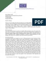 MDH EAW Comment Letter