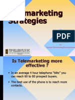 Strategies and Methodologies in TElemarketing