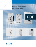 Eaton ca01215001z  Main and Group Switches in Photovoltaic Applications