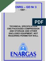 Spec for CNG Compressor