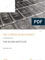 Chinese Silver Market 2012