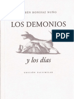Rubén Bonifaz Nuño, Los demonios y los días