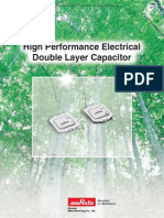 Murata  High Performance Electrical Double Layer Capacitor