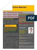 Carbon Materials Course