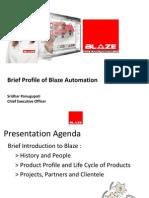 Blaze Automation Profile Jan 2013 _ FISE