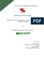 report maruti