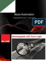 Trail Blazer Torch Features