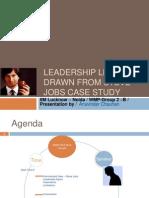 Steve Jobs - Leadership Style