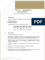 Mumetal Permimphy Supermimphy Eng