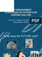 Self Management Strategies of Patients on Long Term Dialysis