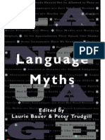 Bauer and Trudgill (1998) Language Myth - Cópia