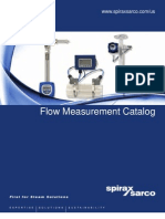 Flow Measurement Catalog 2011