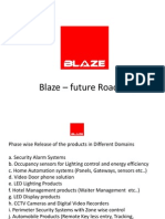 Blaze Automation Security Product Line Sridhar Ponugupati