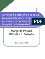 Defensa Del Derecho a La Salud en El Salvador