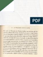 Octavio Paz, Cuadrivio, La palabra edificante