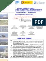 Boletín Semanal IEDT