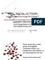 Viral Change by Dr Leandro Herrero in Clean World Conference 2013