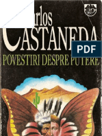 Carlos Castaneda Povestiri Despre Putere