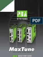 MaxTune Intelligent Servo Drive - PBA Systems