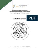 Arbeitsmaterialien Mikrobiologie BTA
