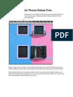 Tips Komposisi Warna Dalam Foto