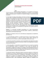 Propuesta Misión Autonomía y Funciones Representates estamento Estudiantil