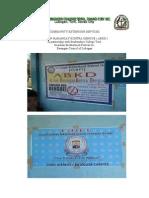 Soaking Kontra Dengue Report