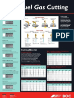 BOC Oxy-Fuel Gas Cutting Poster