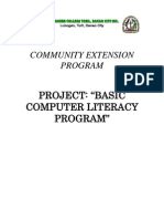 COMMUNITY EXTENSION PROGRAM