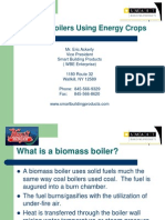 Biomass Boilers Using Energy Crops