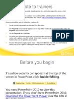 TrainingPresentation-PowerPointKeyBoardShortcuts