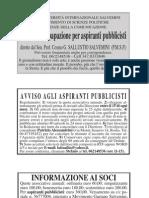 """L'organo di stampa del Movimento Salvemini è il periodico mensile """"L'Attualità"""" (con sede in via Aquilonia n.93, Roma)"""