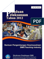 02 Panlak Bantuan Pembelajaran Kewirausahaan SMK-Teaching Industry 2012