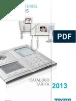 Catalogo Tarifa Videoporteros Porteros 1302