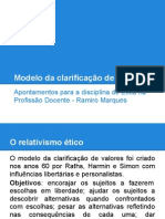 Modelo da clarificação de valores