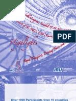31st IRU World Congress-Istanbul Highlights
