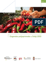 Organska Proizvodnja u Srbiji- neophodan priručnik