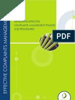 EXT Complaints Management Policy Procedures