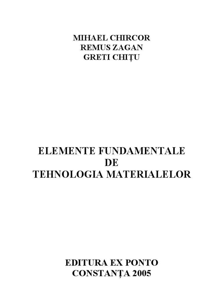 Tehnologia materialelor curs pdf editor