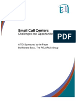 White Paper Small Call Center Website