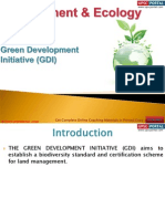 70(B) Green Development Initiative (GDI)