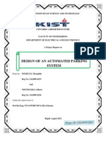 Design of an Automated Parking System