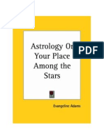 Astrology Your Place Among the Stars - Evangeline Adams
