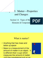Matter Properties and Changes EDITED