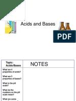 Acids & Bases & Acid Rain Copy
